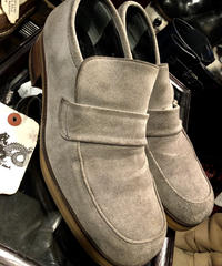 alfredo BANNISTER Suede Leather ローファーSHOE