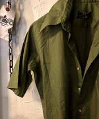 70,s U.S.A.製 JC Penney ラウンド型COTTON Shirtヴィンテージ美品