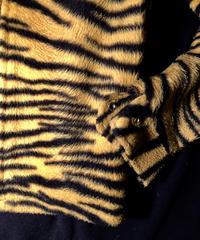 リアルフィフティーズU.S.A.製 TIGER Drizzler Fur ロックンロールジャケット目玉ヴィンテージ 極上美品