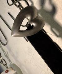 オールドモデルPaul Smith 92,s HEART BUCKLE LEATHER BELT美品