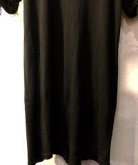 N4 stretch COTTON タイトフィットTee BLACKユーズド美品