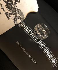 Chrome Hearts キング・オブ・リングKEEPER 21.5号 大阪心斎橋直営店ギャランティー美品