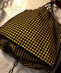 オールドモデル マテリアルダイス ラウンドジッパー NYLON MINI BAG