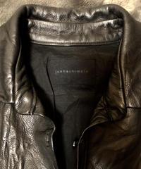 junhashimoto washable processing Leather Shirt 2
