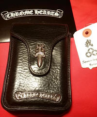 Chrome Hearts 90,s 1st model CIGARETTE POUCH インボイス付目玉アイテムスペシャルプライス
