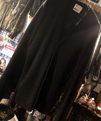 〈目玉〉60,s vintage U.S.A. Sears ACRYLIC CARDIGAN BLACK黄金サイズヴィンテージ美品