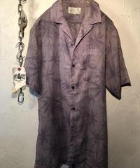 70,s KOREA製 薄手コットンポリALOHA Shirt