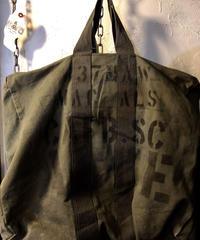 《超目玉ミリタリーPUNKアイテム》U.S.AIRFORCE 80,s 両面特大ステンシル希少ヴィンテージFLYERS KIT BAG.
