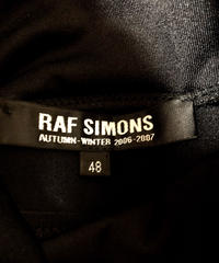 RAF SIMONS MADE IN ITALY 2006-2007 Rロゴ ストレッチハイネック