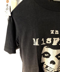 人気バンt The Misfits オールドモデルU.S.A.製リアルエイティーズTee美品