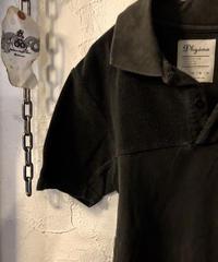 Dhyana SLATE BLACK ポロタイプShirt ユーズド美品