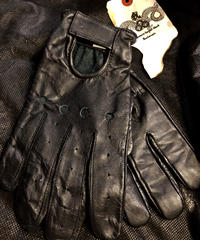90,s オールドPAKISTAN製 Leather DRIVING GLOVE美品
