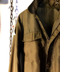 米陸軍70,s NAM戦ヘリコプタークルー野戦部隊シャツ(ヘリクルーシャツ) リアルヴィンテージ目玉アイテム