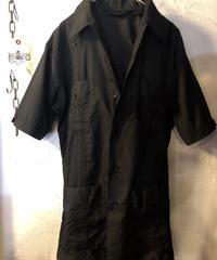 〈目玉〉Rock'n Rollグッド美シルエットオールドCUBA SHIRT BLACK今季二発目デッドストック極上美品