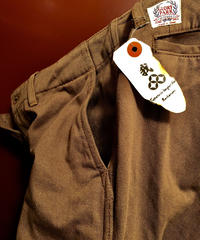 ジャパンクラフトNo.1 THE FLAT HEAD Cotton Chinos