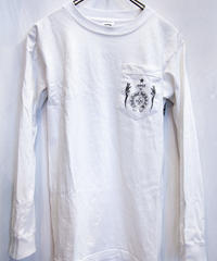 Chrome Hearts U.S.A. オールドモデル 1POCKET LONG-TEE WHITE