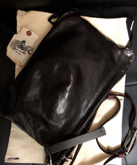 〈目玉〉incarnation 2018AW HORSE STRAP CLUTCH BAG付属布製袋付き美品スペシャルプライス