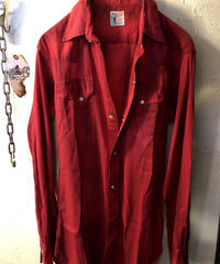 60,s vintage LEVI'S サドルマンタグ Rock'n Roll Western Shirt