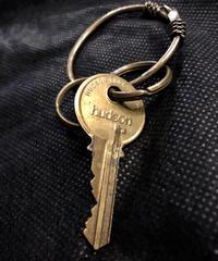 U.S.A. vintage Key × JUDEカスタマイズBRASS Keyring
