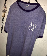 90,s MADE IN U.S.A. Champion PURPLE PLAIN Tee