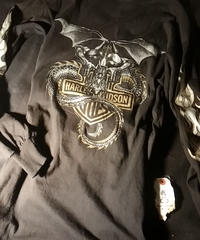 Harley Davidson 正規U.S.A.製ファイヤーアームTee美品M