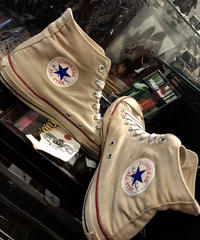 ★Bコンディションヴィンテージスペシャルプライスシリーズ③ vintage U.S.A. 80,s ALL STAR NATURAL Hi US10