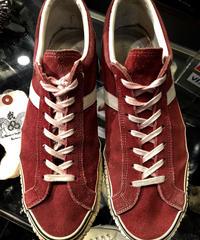 90,s 日本製 MILL REEF BURGUNDY SUEDE Low オールドモデル美品