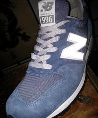 U.S.A.製 new balance M996 Perl BLUE BOX付極上未使用品