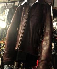 《超目玉》Aero Leather 最高級フロントクォーターホースハイド オリジナルタグHALF BELT36美品スペシャルプライス