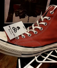 U.S.PRODUCT Chuck Taylor70,s Burgundy CANVAS Hi  ユーズド美品