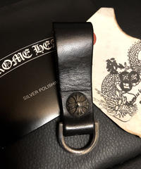 Chrome Hearts BELT LOOP D-RING CROSSBALL美品