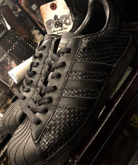 adidas オールドモデル07,s SUPER STAR レザーブラック美品