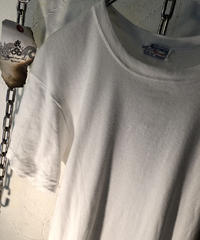 60,s MADE IN U.S.A. vintage WHITE TEE