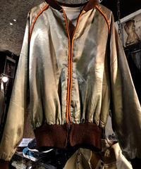 50,s U.S.A.製ヴィンテージ TALONジッパー Rock'n Roll VARSITY Jacket