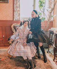 [Baroque] ヴィクトリアンパールブーツ【ご予約商品】