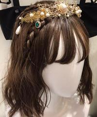 Baroque x Sakizo  Repose of Queen ~女王の安息所~ ジュエリークラウン【ご予約商品】【ご予約商品】