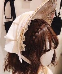 Baroque x Sakizo  Repose of Queen ~女王の安息所~ コロネーションボンネット【ご予約商品】