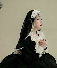 [Baroque] PIETA ヴェールヘッドドレス 【ご予約商品】