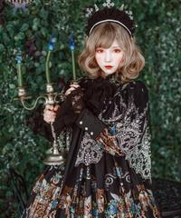 [Baroque] Baroque x KIYORE 'ROSARIA ROSARIO'  レーシー十字架ミニーハロー【ご予約商品】
