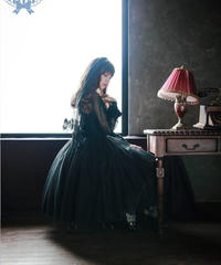 [Baroque] 'ODETTE'  ジャンパースカート 【ご予約商品】