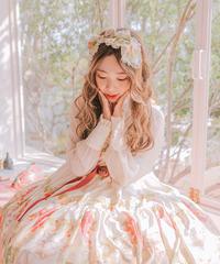[Baroque]  Baroque x Sakizo Strawberry field's Cats ~イチゴ畑の猫たち~ リボンカチューシャ【ご予約商品】