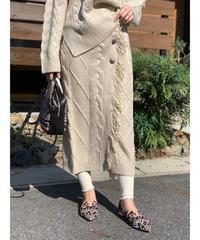 AIC ★ knit wrap skirt