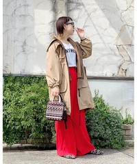 SRIC ★ 2way long coat
