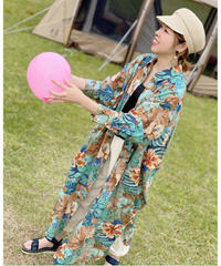 AIC ★ aloha shirt one-piece