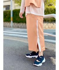 FOSI. ★ glossy jersey skirt