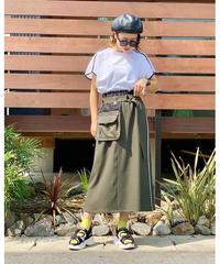 SRIC ★ west bag-belt skirt