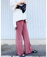 CHIGNONSTAR ★ tereko fabric pants