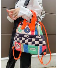 HEY! Mrs Rose ★ print quilting fabric bag