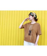 FOSI. ★ lace up T-shirt