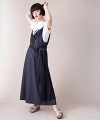SRIC ★ asymmetry jumper skirt